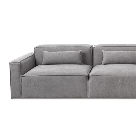 contemporary modular sofa gus modern mix modular sectional right arm piece gr