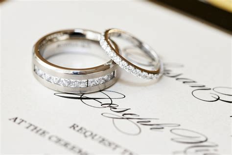 wedding rings different wedding band styles for the groom