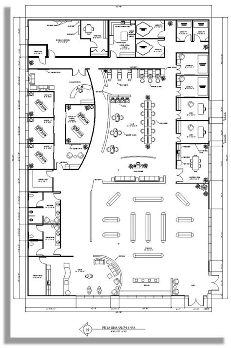 salon office layout spa floor plan business decor pinterest spa salons