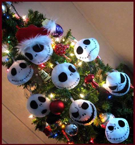jack skellington ornaments by onebadhat on deviantart