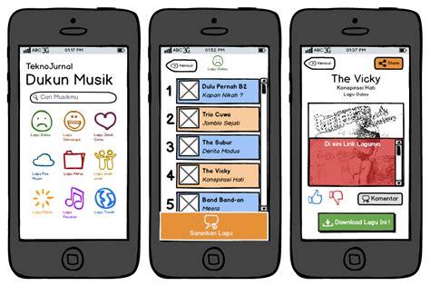 layout aplikasi mobile cara cara membuat mockup angon data