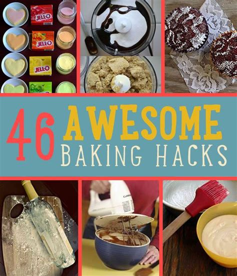 baking hacks 39 best images about food hacks on pinterest kitchen