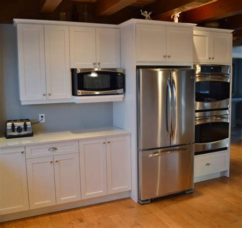 kitchen cabinets with microwave shelf 17 best ideas about microwave shelf on pinterest open
