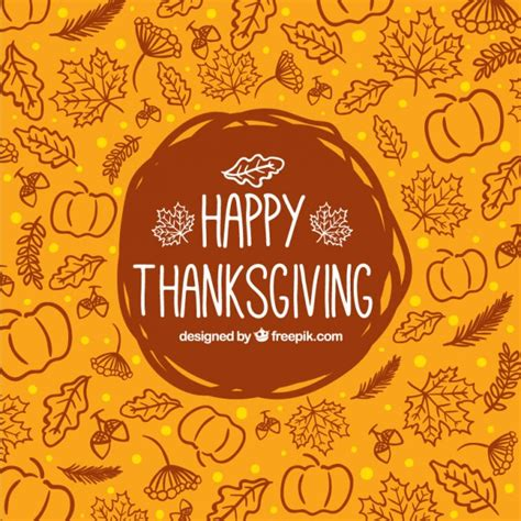 thanksgiving image free sketchy thanksgiving background vector free download