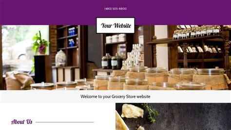 Grocery Store Website Templates Godaddy Godaddy Store Templates