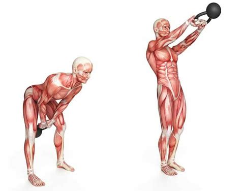 kettlebell swing works what muscles 9 kettlebell swing benefits the moves to try