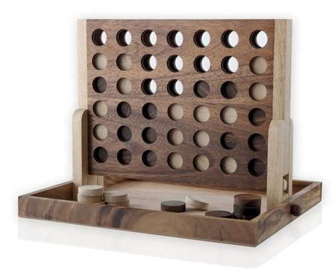 diy wooden games a beautiful quot four in a row quot wood game circles wood games and 4 in