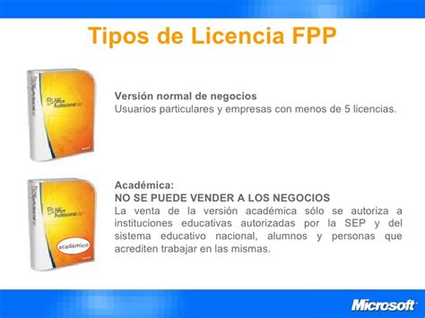 tipos de licencias de microsoft nueva presentaci 243 n licenciamiento