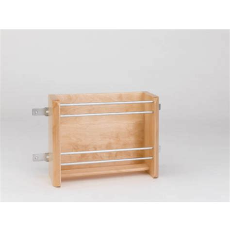 kitchen cabinet rails vertical foil rack for kitchen cabinets maple with