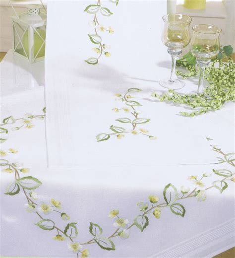 rico design embroidery kits apple blossomstable cover embroidery kit by rico design