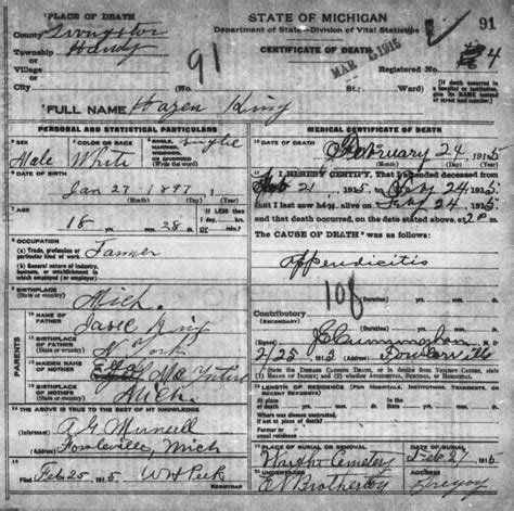 Thurston County Birth Records Isaac Justin King The Caskey Family