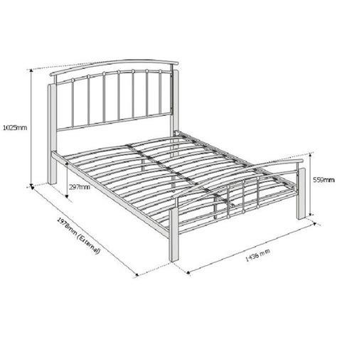 metal bed frames double 25 best ideas about metal double bed frame on pinterest