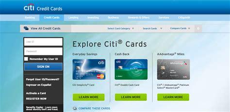 Citi Credit Card Business Login