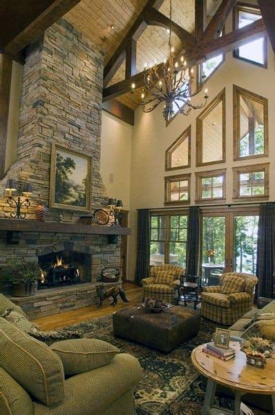 top   stacked stone fireplace ideas interior designs