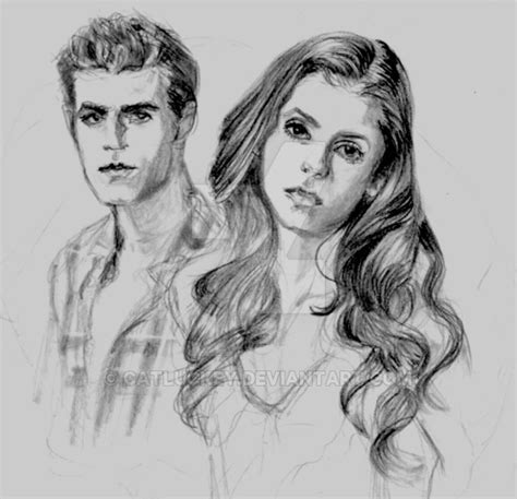 vire diaries coloring pages diaries stefan 3 by catluckey on deviantart
