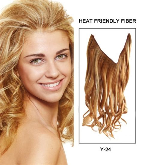 flip in hair 16 quot wave synthetic flip in hair extension e51006 y 24