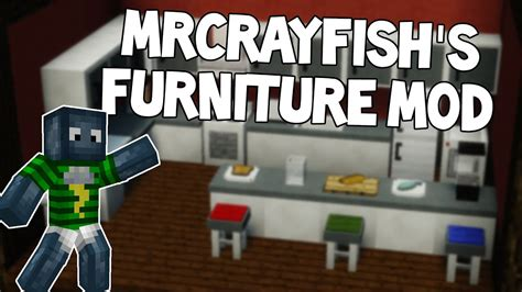 Mobel Minecraft m 246 bel in minecraft mrcrayfish s furniture mod review