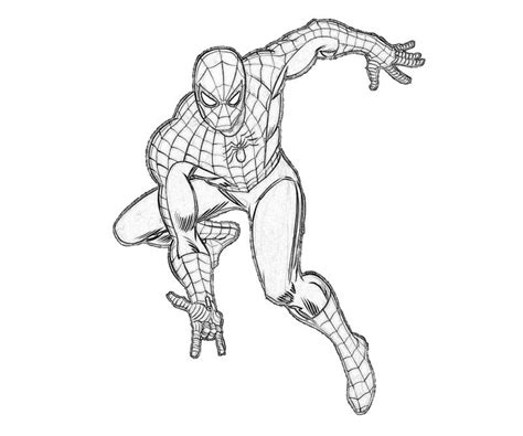 coloring pages of ultimate spider man ultimate spiderman coloring pages