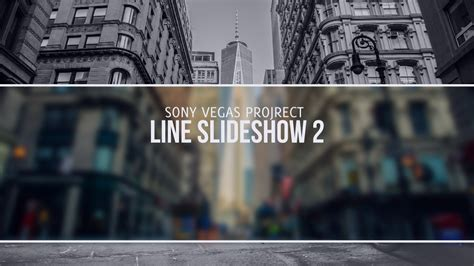 Template Line Slideshow 2 Sony Vegas 11 12 13 Sony Vegas Pro Slideshow Templates Free