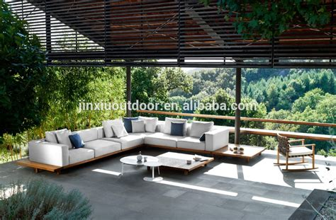 outdoor furniture luxury luxury wooden teak outdoor sofa project outdoor furniture f8025 buy luxury outdoor furniture