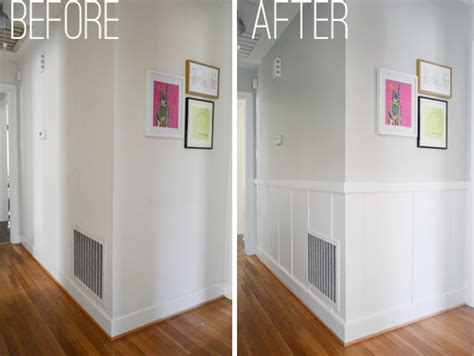 Faux Wainscoting Ideas - our 57 board and batten tutorial it s surprisingly easy young house love