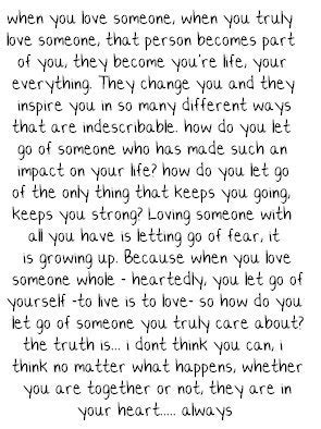 MyLife Quotes: The measure of love is when you love