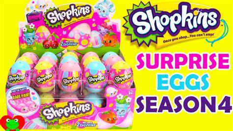 Shopkins Eggs shopkins season 4 easter eggs