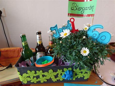 Alkohol Geschenke Basteln by Biergarten Geschenk Geburtstag Geschenk