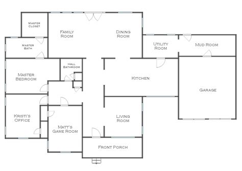 large kitchen floor plans house plans with large kitchens large kitchen house