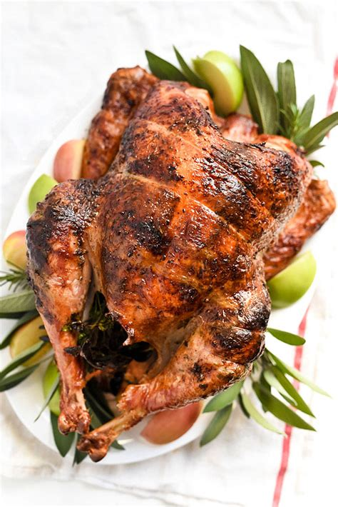 herb butter rotisserie turkey foodiecrush com