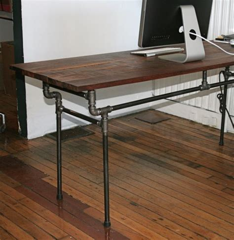 Diy Table Desk by Inspiring Esby Diy Industrial Desk