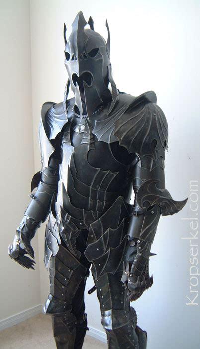Hoc Premium Black Set Suit kropserkel conceptual nazgul armour set 5 images