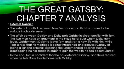 theme quotes in the great gatsby chapter 2 the great gatsby chapter 7 analysis ppt video online