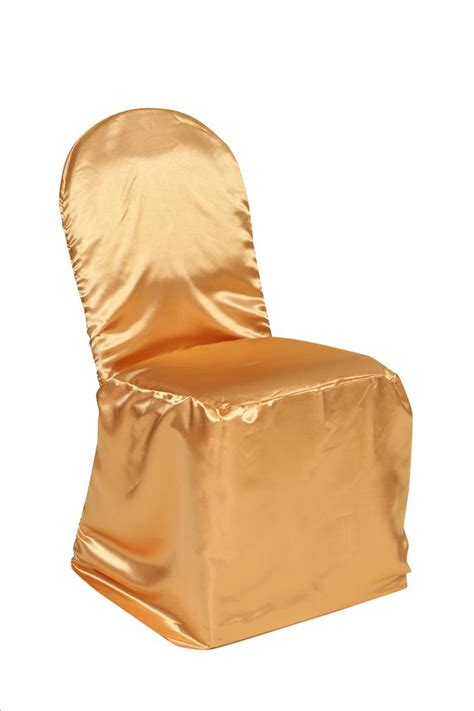 Gold Chair Covers by Satin Banquet Chair Cover