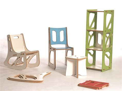 modular customizable flat pack furniture that uses