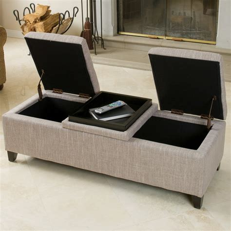 cloth storage ottoman fullerton chamois fabric storage ottoman great deal