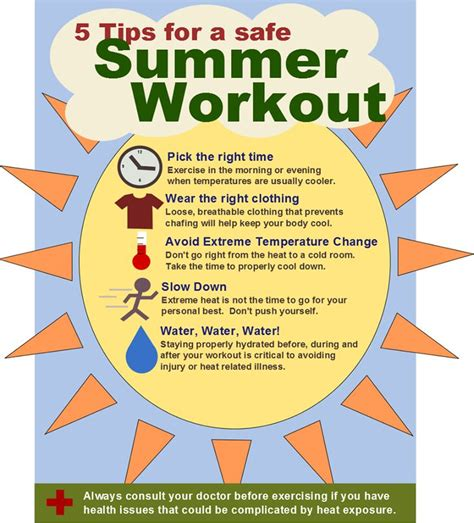 Some Tips For Summer by Useful Tips For Summer Workout Summer Workout Tips