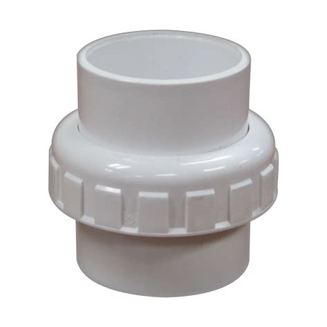 Pool Plumbing Fittings by 1 5 Inch Pvc Union Skt Skt Pool Supplies Canada