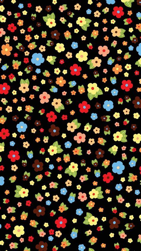 iphone 6 plus wallpaper pattern cute colorful flower pattern iphone 6s wallpapers hd