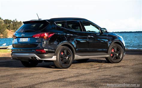 Santa Fe Hyundai 2016 by 2016 Hyundai Santa Fe Sr Review Performancedrive