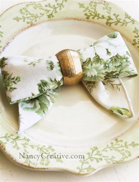 how to fold a napkin four pretty design techniques