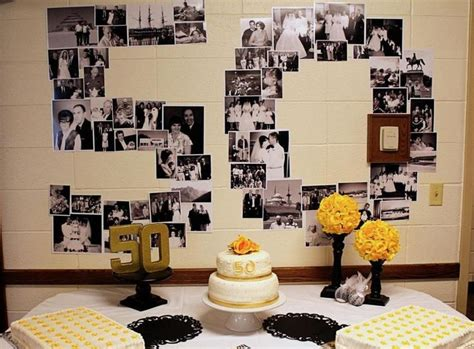 anniversary party ideas   budget gallery