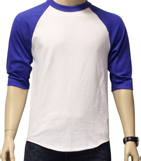 Jkt48 Raglan Sleeves Team T new 3 4 sleeve raglan baseball mens plain jersey team sports t shirt s 3xl ebay
