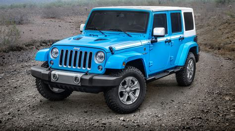 white and blue jeep 2017 jeep wrangler unlimited chief wallpaper hd car