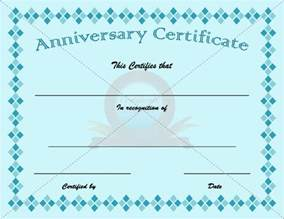 anniversary certificate template free anniversary certificate template anniversary certificate
