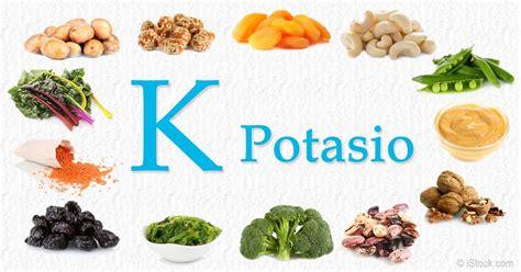 alimentos que contienen sales minerales 191 por qu 233 debemos incorporar alimentos ricos en potasio en