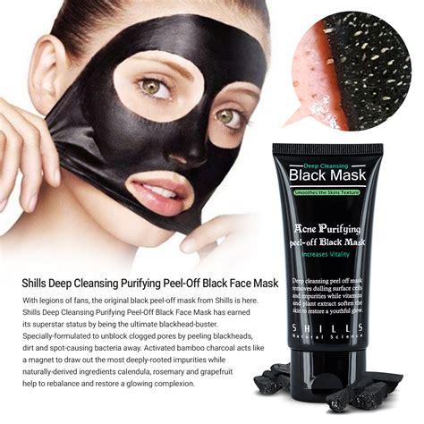 Shills Black Mask Cleansing 100 Original 1 shills authentic cleansing peel black mask