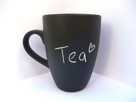 Cute Mugs | chalkboard mug custom mug cute gift 183 bubbleandmimi