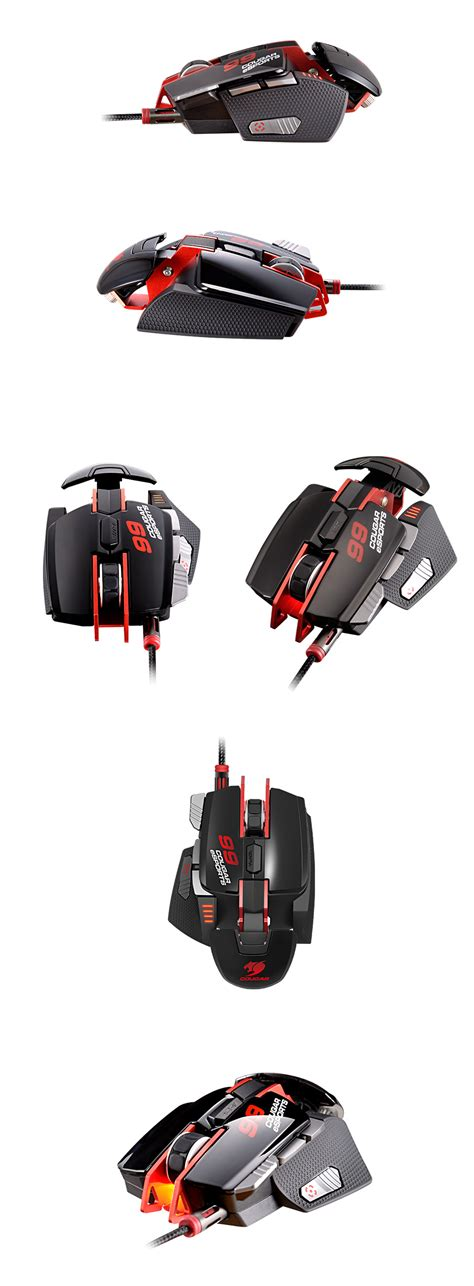 700m Esports Edition Aluminum Laser Gaming Mouse White 700m esports edition laser gaming mouse black cgr
