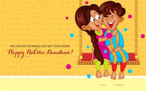 cartoon wallpaper for raksha bandhan rakshabandhan brother sister hd wallpaper happy raksha